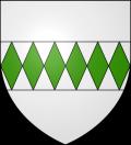 Герб коммуны Кюкюньян, где расположен замок