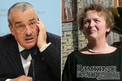 Карел Шварценберг и Элизабет фон Пецольт