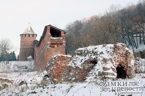 Остатки Зачатьевской башни