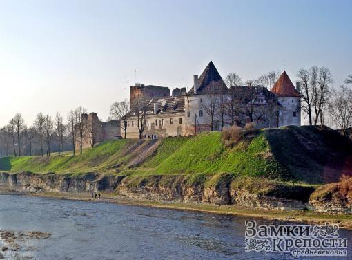 Бауский замок. Современный вид