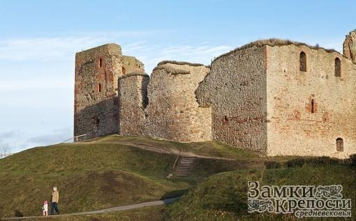 Башни замка Бауска