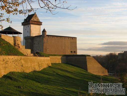Бастионы Нарвского замка