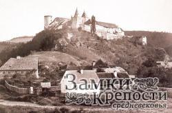 Замок Крживоклат в 1863 г.