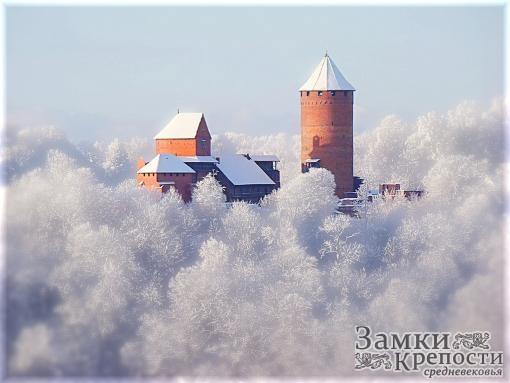 Турайдский замок зимой