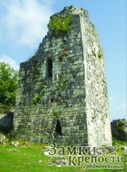 Восточная башня до реконструкции