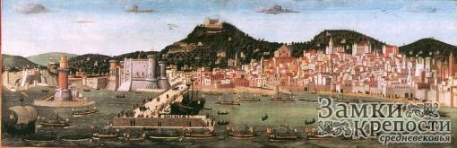 План Неаполя в XVI в.