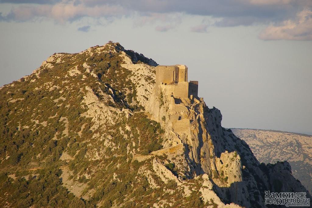 Замок керибюс château de quéribus