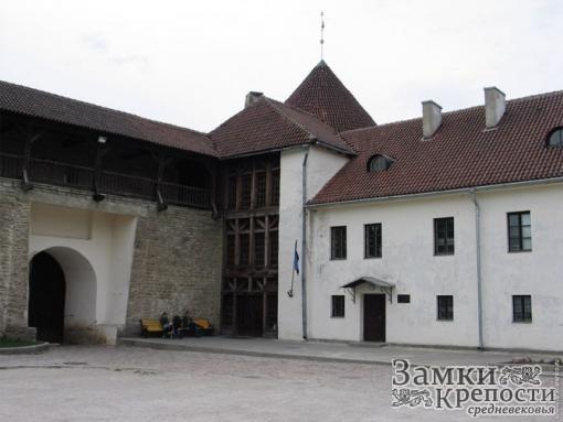 Внутренний двор замка Нарва