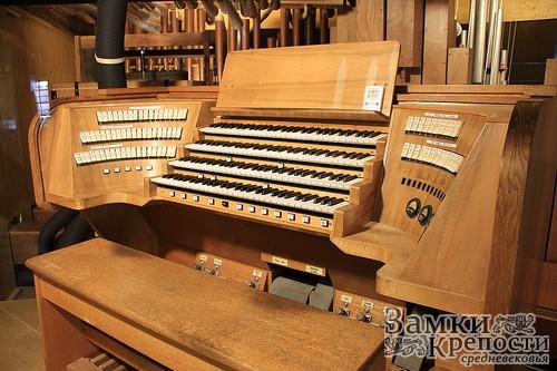 Знаменитый орган в Куфштайне