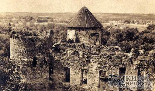 Веденский замок в 1930 году