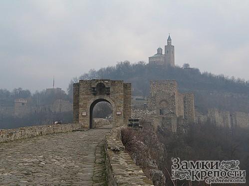 Главный вход в Крепость Царевец