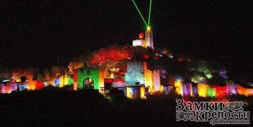 Лазерное шоу в крепости