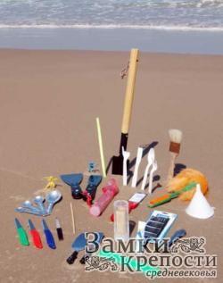 Инструменты для строительства замка
