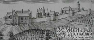 Средневековый замок Бурсо