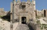 Цитадель Алеппо - Главный вход