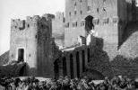 Цитадель Алеппо  на старом фото