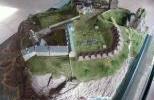 Замок Даннотар - макет замка в XVII в.
