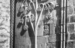Крепость Ананури - стена большого храма