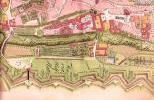 План Пражского града в XVII веке