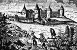 Крепость Копорье - гравюра Олеария