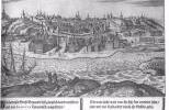 Нижегородский кремль - гравюра А.Олеария 1636 г.