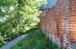 Смоленская крепость - заросший боевой ход
