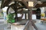 Замок Гохостервиц - колодец в верхнем замке
