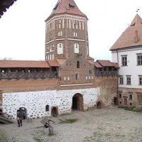 Мирский замок - Внутренний двор