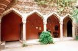 Замок Ланэк - внутренний двор