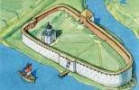 Староладожская крепость в 1114 г.