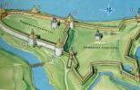 Староладожская крепость в конце XVI в.