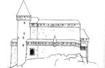Замок Орлик в XV в.