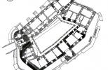 План замка Орлик в XV в.