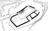 План замка Орлик в XIII—XIV вв.