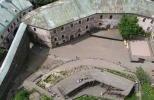 Вид с башни Олафа на Кузнечный и нижний дворы