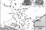 Важнейшие города и крепости Южной Франции, населенные катарами