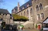 Внутренний двор замка Шлоссбург