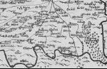 Замок Шлоссбург на старой карте