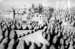 Замок Шлоссбург на рисунке 1704 г.