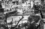Нюрнберг в руинах после бомбардировки союзников в 1945 г.
