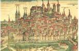 Замок Кайзербург и Нюрнберга на гравюре XVII в.
