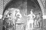 Гном Миме пытается сковать меч Зигфриду