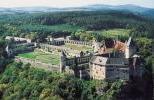 Замок Розенбург с высоты птичьего полёта
