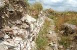 Крепость Русокастро - остатки стен