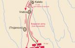 План битвы при Русокастро 18 июля 1332 г.
