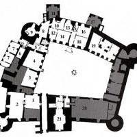 Замок Кальмар - План 1го этажа