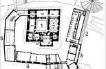 Замок Хяме - план 2-го этажа