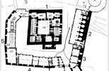 Замок Хяме - план 1го этажа