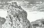 Замок Гохостервиц на старой гравюре