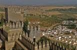 Замок Альмодовар - вид со стен замка